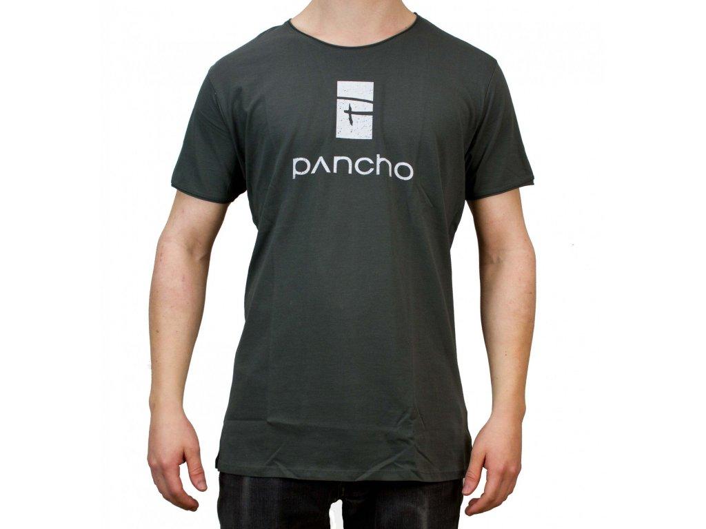 Triko Panchowheels T-Shirt Logo, olive