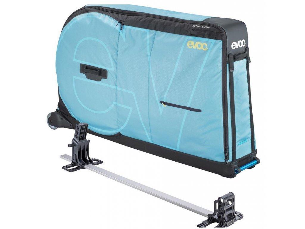 Přepravní taška BIKE TRAVEL BAG PRO, 310L, AQUA BLUE