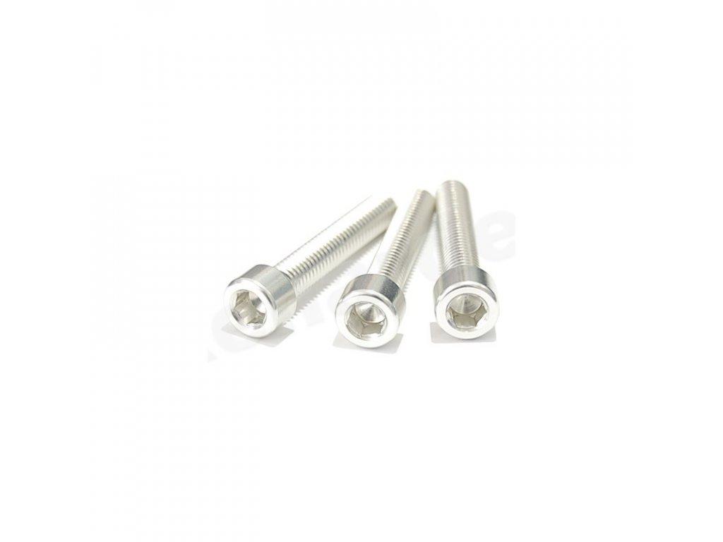 Šroub M5x16mm, stříbrný