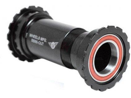 Středové složení Wheels Manufacturing BB86/92, 24mm (Shimano), 98g