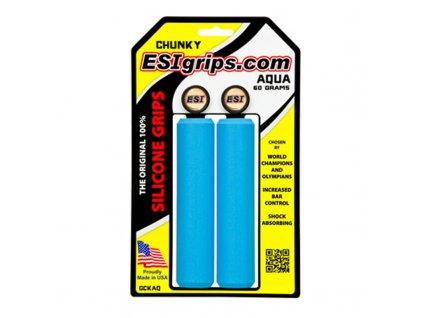 Gripy ESIgrips Chunky, aqua, 60g