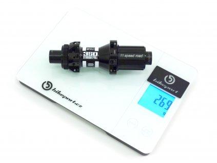 Silniční diskový náboj zadní DT Swiss 350 STRAIGHTPULL, CL, 12/142mm,  24 děr, 257g