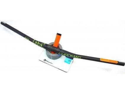 Karbonová řídítka Chromag BZA, 35/800mm, 235g