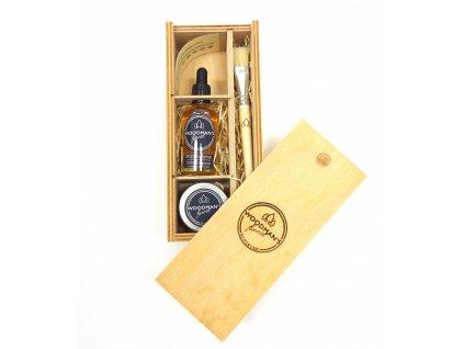 Dárkový box Woodman's Finest Large Wooden Box