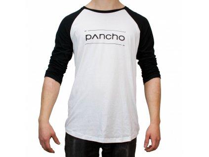 Triko Panchowheels T-Shirt Spokes, černo/bílé
