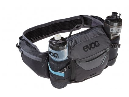 Ledvinka EVOC HIP PACK PRO 3, 3L, Black - Carbon Grey