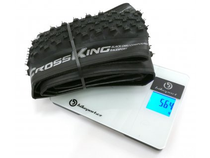 Plášť Continental Cross King 29 x 2,2 BlackChili RaceSport 2018, 565g