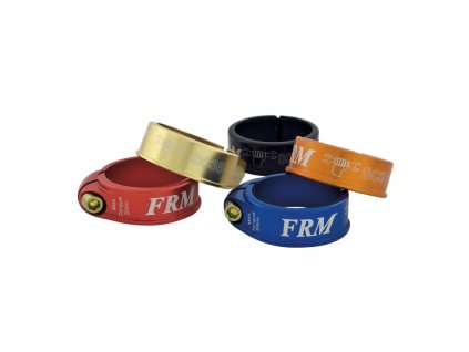 Objímka sedlovky FRM SC Ti, červená