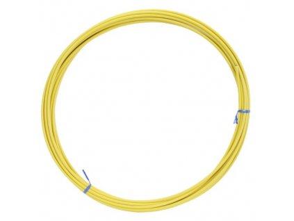 Bowden řadící 4mm žlutý, 1m, 55g