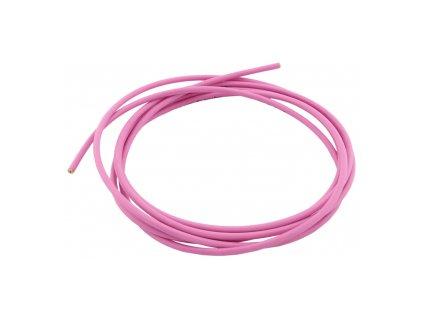 Bowden řadící 4mm růžový, 1m, 55g