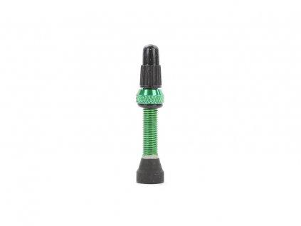 Zelený bezdušový ventilek TUNE 35mm, 3g