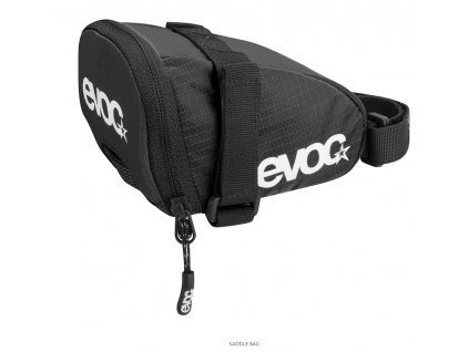 Podsedlová brašna EVOC SADDLE BAG, 0,7L, BLACK