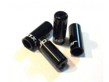 Zatěsněná koncovka řadícího lanka 4mm, černá