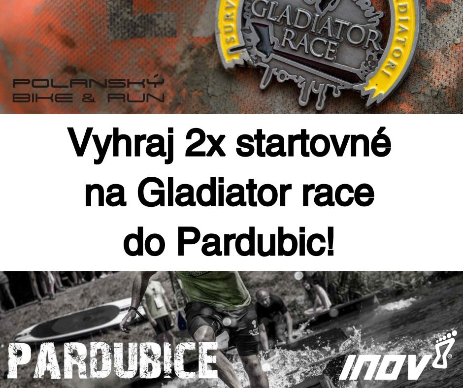Soutěž o startovné na Gladiator Race