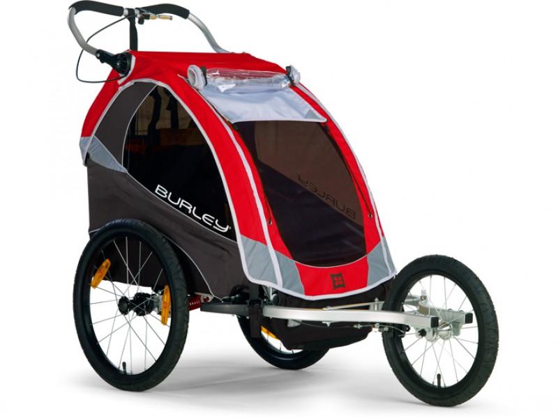 Vozíky na kolo, dětské sedačky
