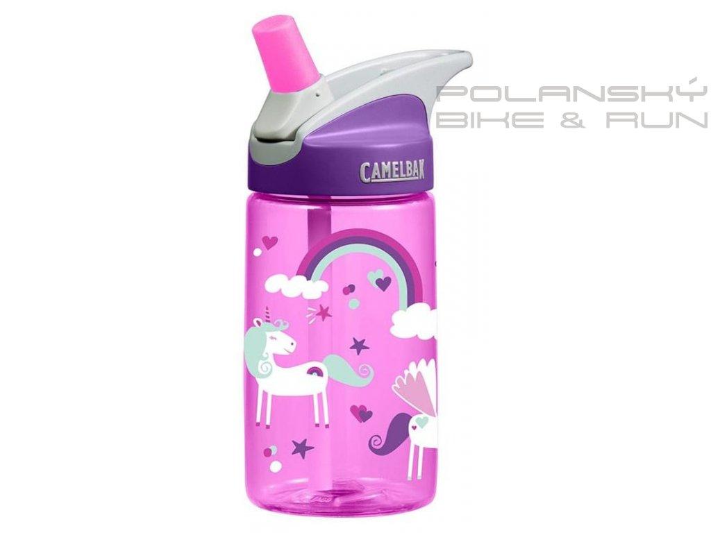 Dětská láhev CAMELBAK Eddy kids 0,4l unicorns
