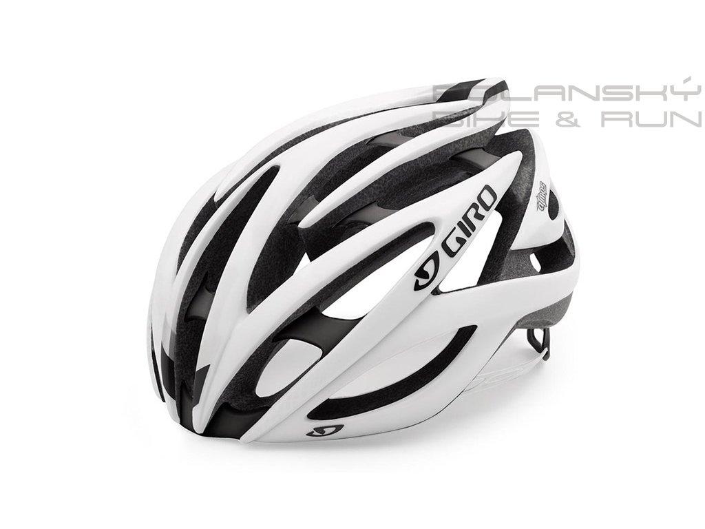 293836 !cyklisticka helma giro atmos ii matna bila cerna 56940