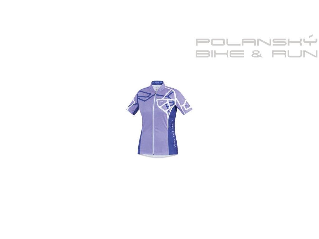 Dres dámský GORE Element Lady Adrenaline Jersey  fialový