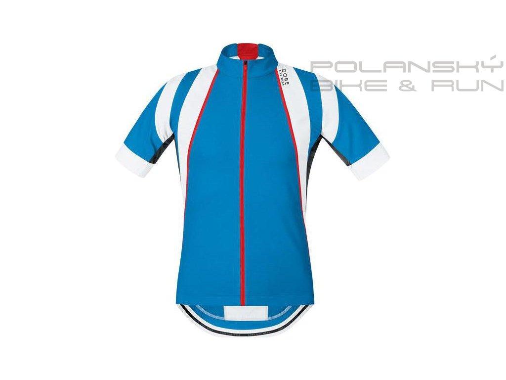 Dres pánský GORE Oxygen Jersey-blue/white