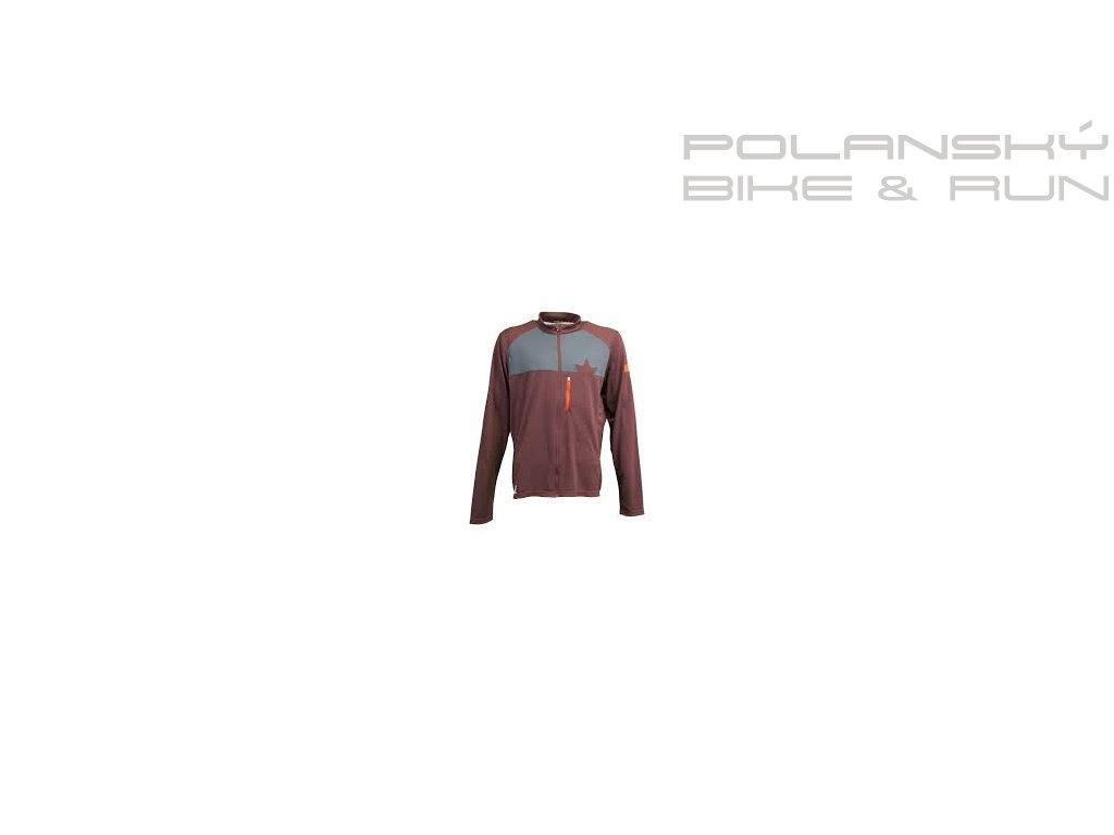 Cyklistický dres dl.rukáv MALOJA AmasM. 1/1 Piquee root