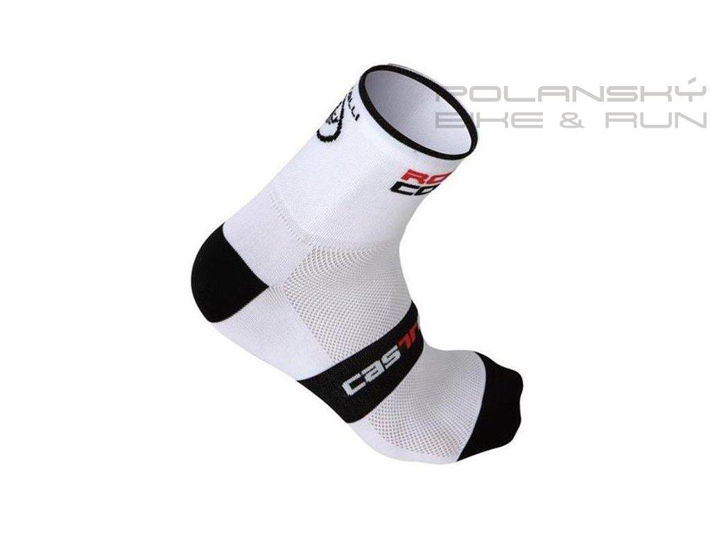 castelli socks rosso corsa 9cm