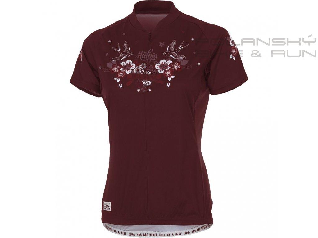 18551621A Maloja Dove Shirt women cadillac