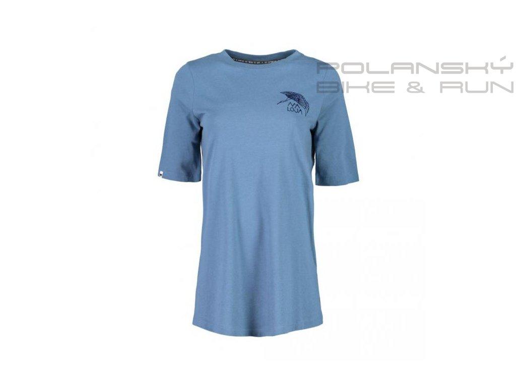 Dámské tričko MALOJA SaluverM. blueberry