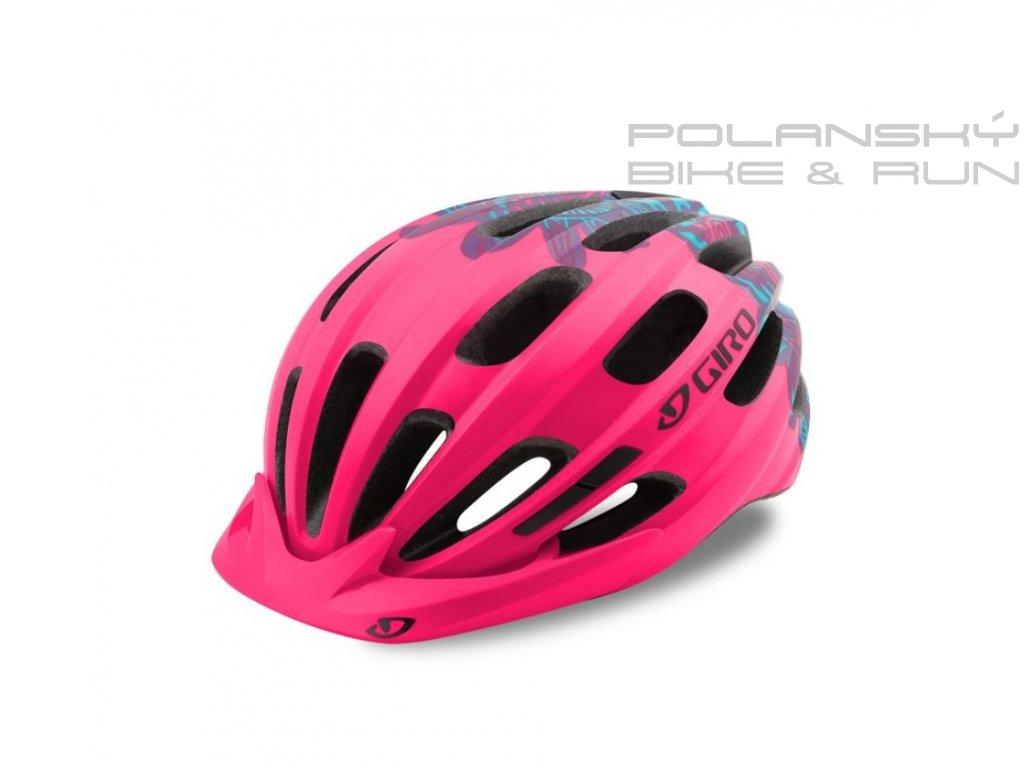 2469ecb96 Cyklistická přilba GIRO Hale Mat Bright Pink