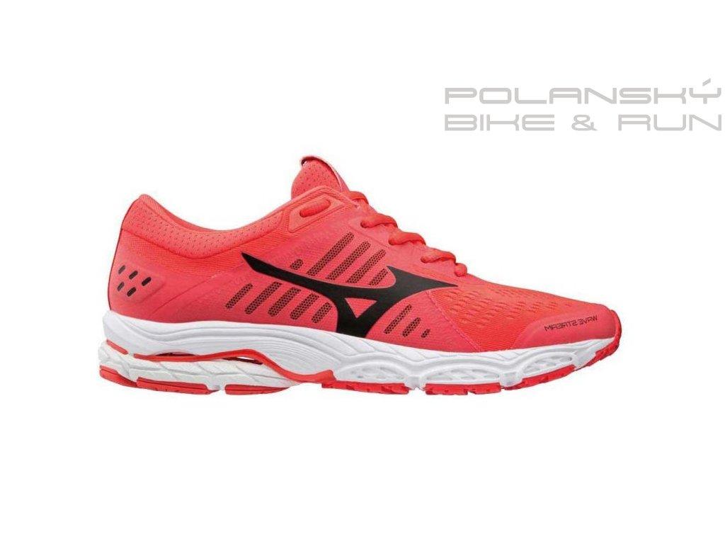 Běžecké boty MIZUNO WAVE STREAM FieryCoral/Black/Whi