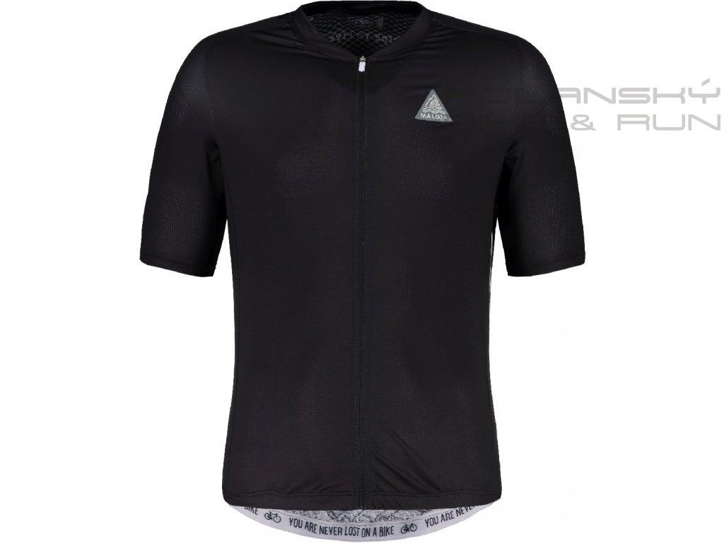 Cyklistický dres MALOJA PlansM. 1/2 moonless
