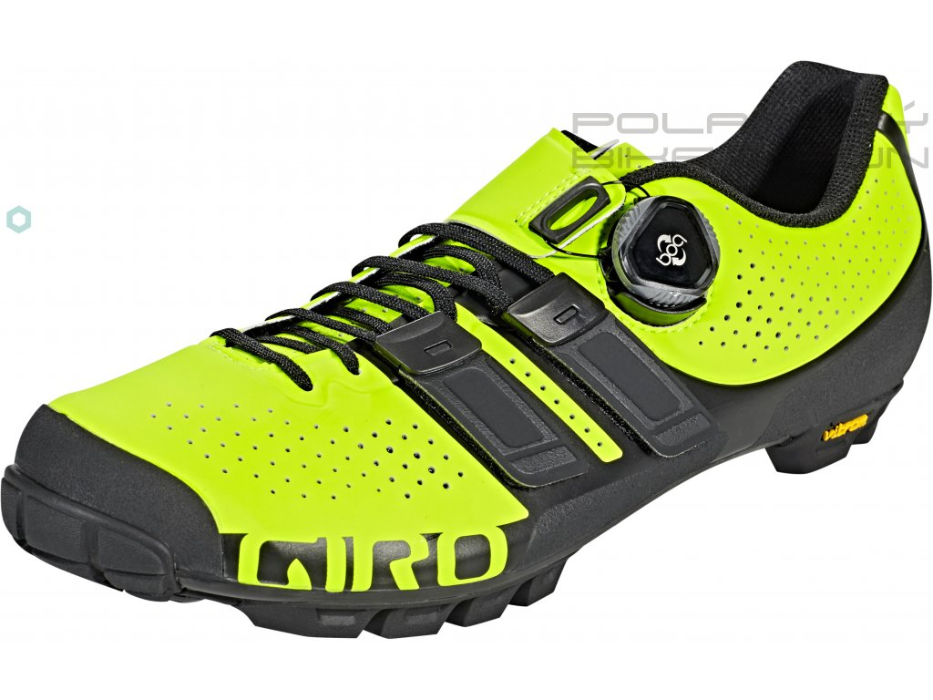 giro code techlace shoes men lime black 2019 grosse 45 32991
