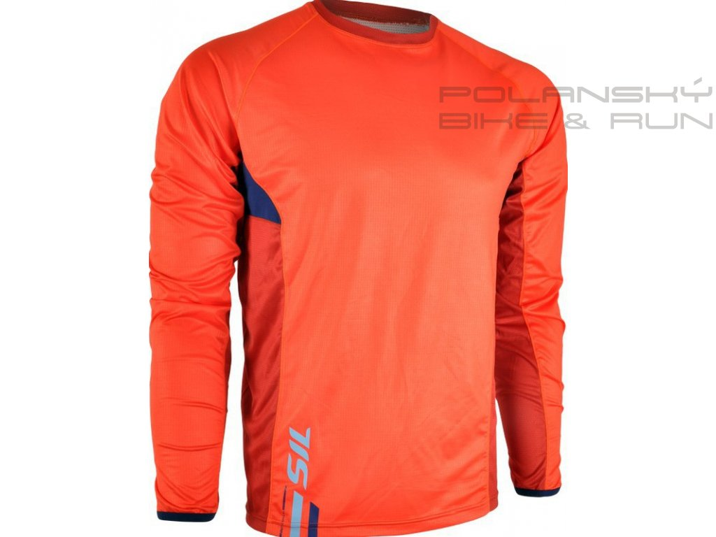 Cyklistický dres SILVINI CESANO orange-navy