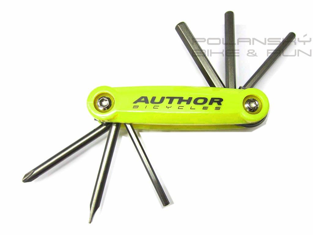 Nářadí AUTHOR ToolBox 6 žlutá-neonová/černá