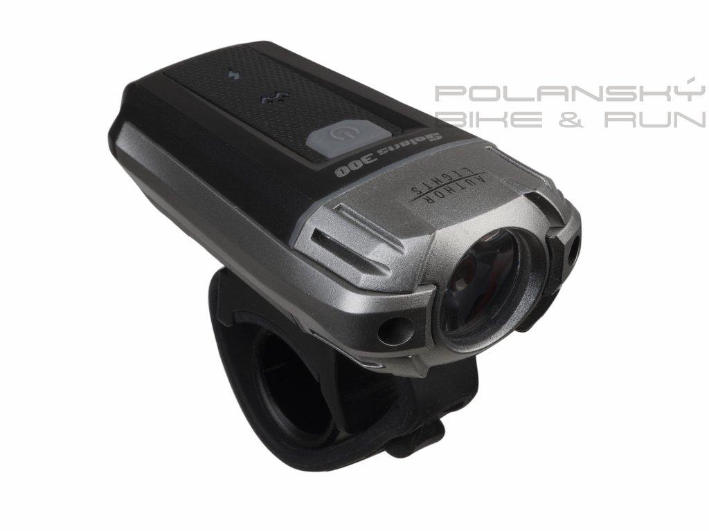 Světlo př. A-Solaris 300 lm USB černá