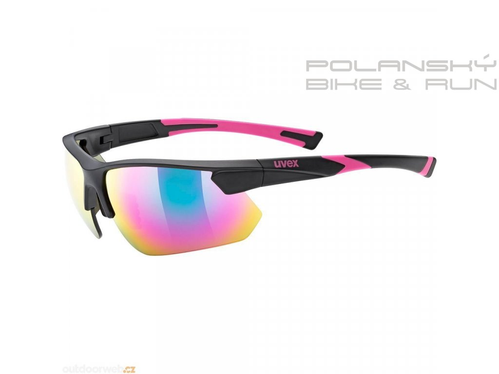 Brýle UVEX SPORTSTYLE 221 black pink mat
