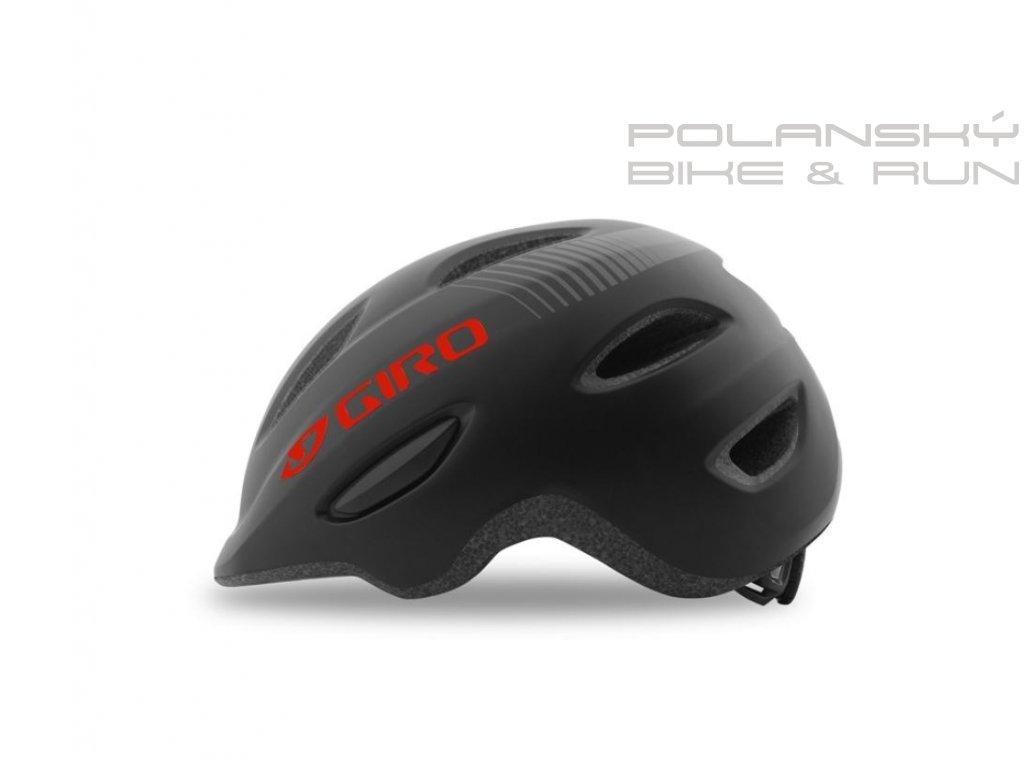 Cyklistická přilba GIRO SCAMP mat black