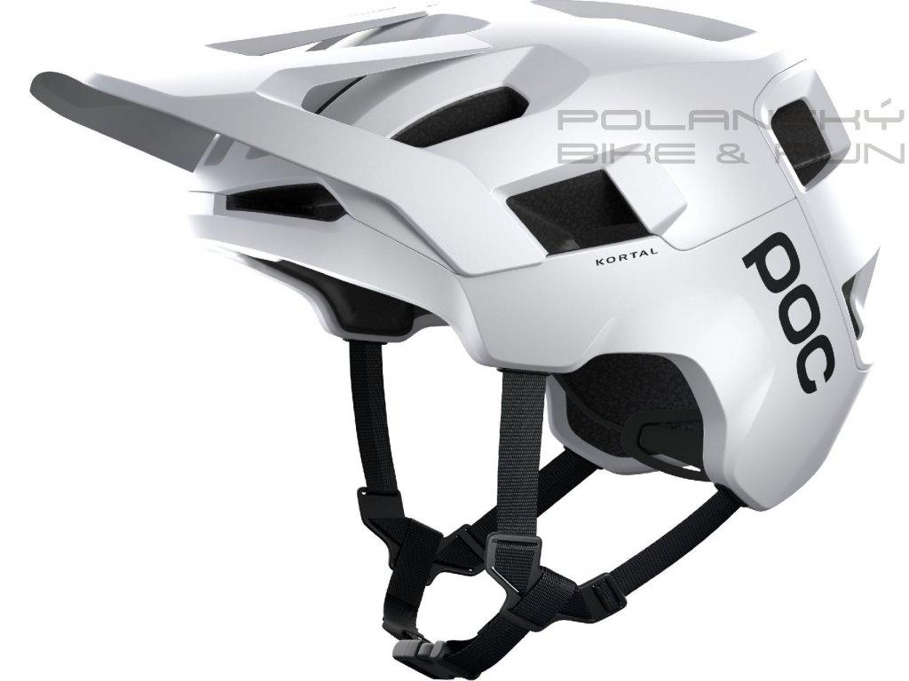 Cyklistická přilba POC Kortal Hydrogen White Matt