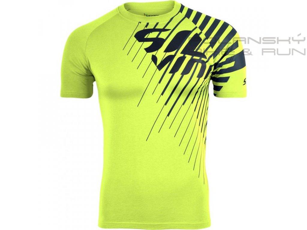 Pánské triko SILVINI PROMO neon-charcoal