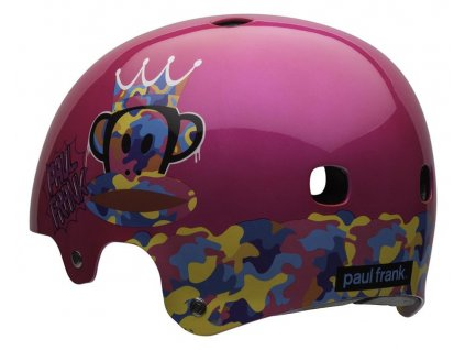 Cyklistická přilba Bell SEGMENT paul frank pink