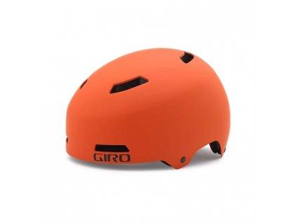 Cyklistická přilba GIRO QUARTER mat flame/ti