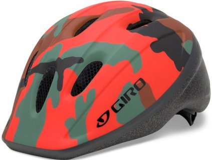 0054229 giro rodeo kids helmet colour red camo size letter uni size child