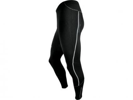 Elastické kalhoty bez vložky SILVINI MOVENZA black