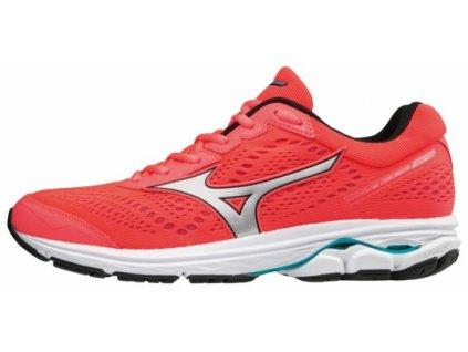 Běžecké boty MIZUNO WAVE RIDER 22 FieryCoral Silv PBlue 94c0eabc21
