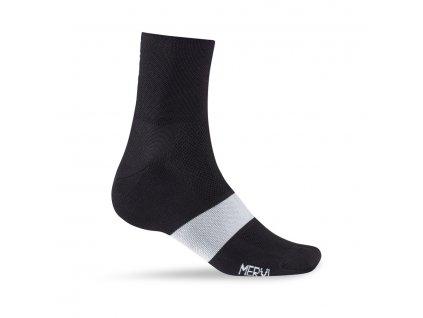 black ponozky