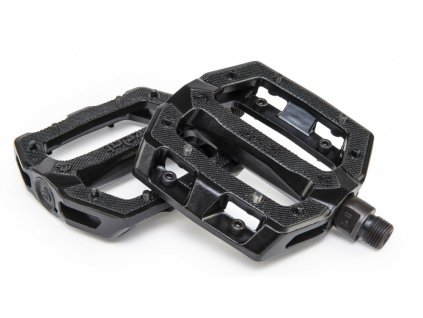 eclat slash alu pedals black
