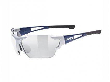 Brýle UVEX SPORTSTYLE 803 race vm silver blue