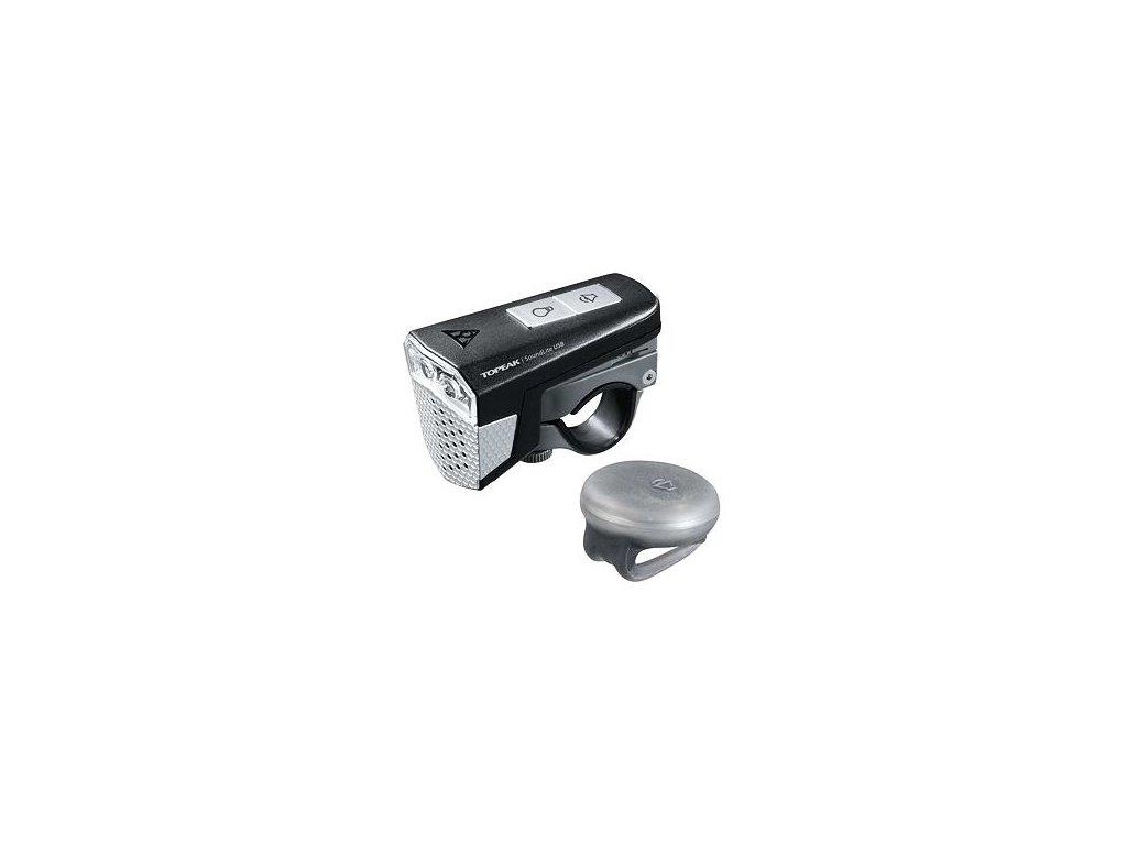 TOPEAK světlo SOUNDLITE USB s klaksonem