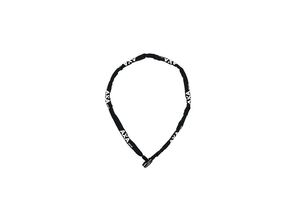 AXA zámek Rigid chain RCC 120 klíč černá