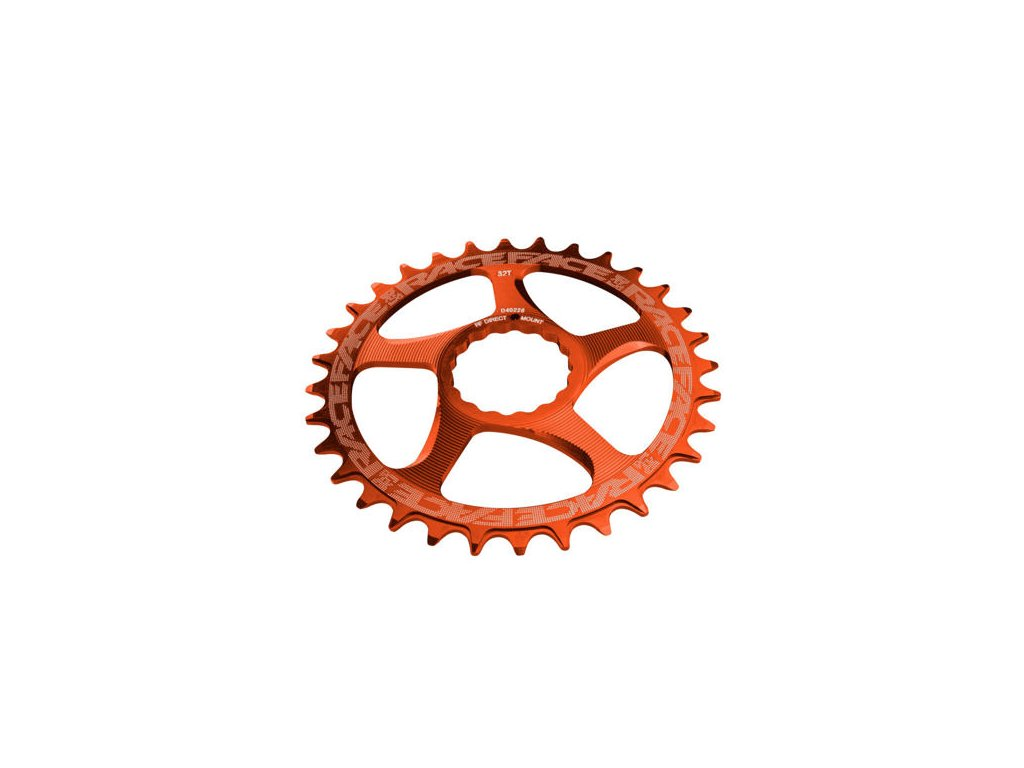 RACE FACE převodník SINGLE Direct Mount, N/W 32T 10-12SPD oranžová