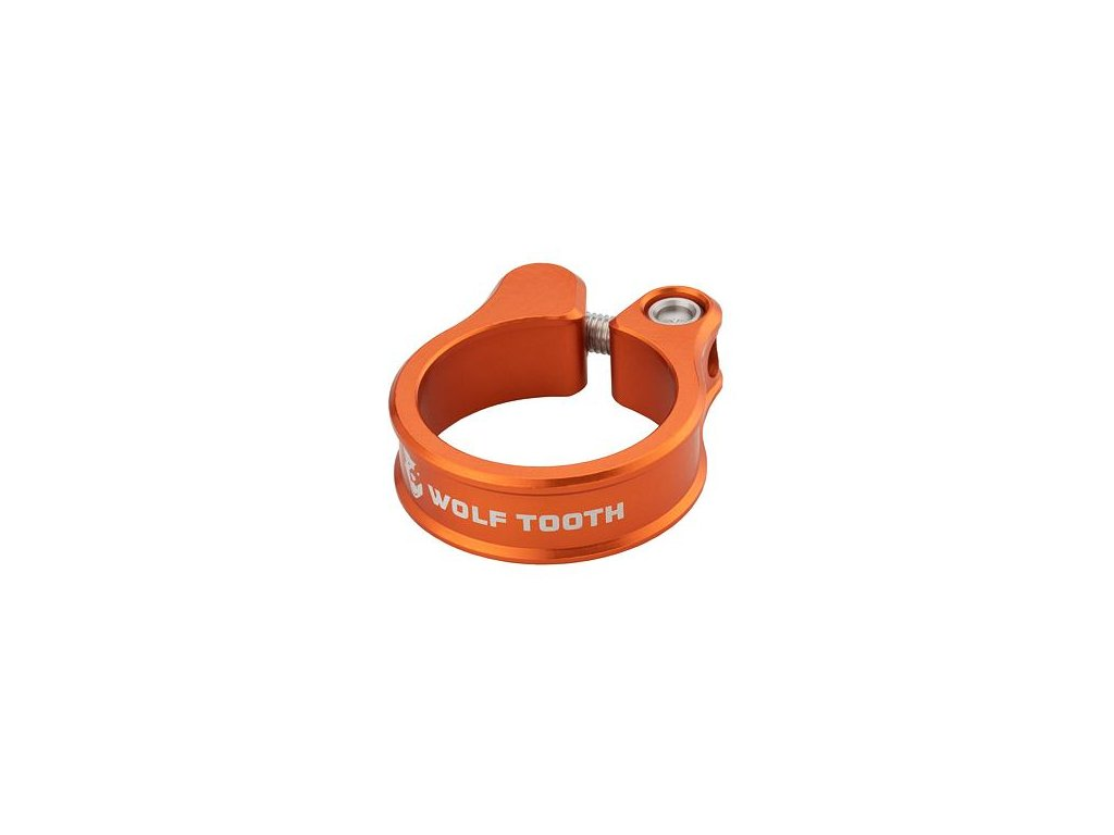 WOLF TOOTH sedlová objímka 34.9mm oranžová